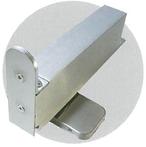 NHN PDC100W Framed Door Pivots Door Closers